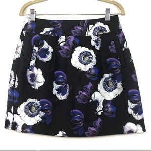 J. Crew Skirts - J. Crew | Violet Poppy A-line Skirt